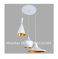 Free Shipping hot 3pcs together ABC(Tall,Fat and Wide) Design by Tom Dixon white Pendant Lamp Beat Light modern lighting OEM