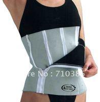 Women fashion Neoprene Sports Waist Belt Support 4 Zippers SB082