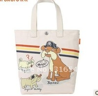Optimal bag monogatari new han cartoon canvas bag shoulder bag female bag lovely portable tottenham bag