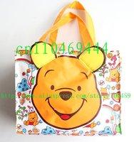 Free Shipping Wholesale Winnie Cartoon student lunch box bag / lunch box / lunch / lunch/ hand bag handbag
