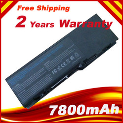 7800mAh Battery For Dell Inspiron 1501 6400 E1505,Latitude 131L,Vostro 1000 312-0461 312-0466(China (Mainland))