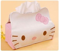Free shipping,  Hello Kitty  Paper towel box