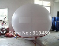 ON SALE Hot 6.7ft/2m Diameter Advertising Helium White PVC Balloon for Events/FREE Shipping