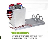 Fuel cell, Surge Tank,Fuel tank with doule fuel bracket and filter ,high quality,MP-TA40 5LITRES