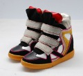 2012 new hot Wedge Sneaker casual women' s shoes have LOGO Isabel Marant