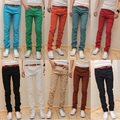 Casual male slim skinny pants male tight jeans elastic harem pants non-mainstream trousers , Free Shipping