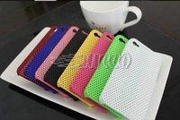 Free Shipping Kingvieto Mesh Grid Net Case Back Cover for iPhone 4 4S Cases 50pcs/lot Super Quality!!