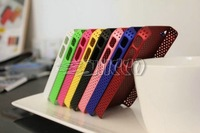 New Arrival 20pcs Kingvieto Mesh Grid Net Case Back Cover for iPhone 4 4S Cases Free Shipping