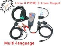Lexia 3 PP2000 Citroen Peugeot diagnostic v.47 full set with DiagBox 6.01