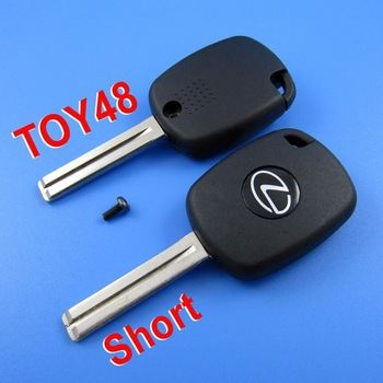 For Lexus 4D Duplicable Key Shell Toy48 (short) with Groove + Free shipping