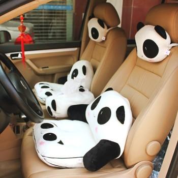 Big discount Giant panda sofa cushion pillow car lumbar support lumbar pillow nap pillow Promotional big sales