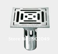 Bathtub Shelves Floor Drain Sanitary Floor Trap Bathroom Accessories Set KL-FC024