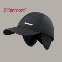 free shipping  autumn new Kenmont ear baseball cap ear protector cap winter hat km-2118