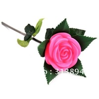 2012 New Romantic Eletronic Rose, Useful Valentines Day Gifts, Simulation Never Wizen Rose, Pink Lady  Free shipping 10pcs/lot