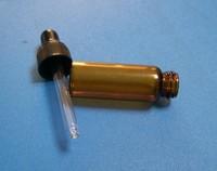 Lots of 30 pcs 5ml amber glass oil bottle for oil from sunshine with eye dropper bottle