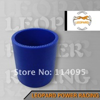 Silicone Tubing Universal Blue 2 3/8'' 3-Ply Straight Silicone Hose Coupler 60MM Turbo Hose