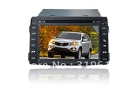 2010 KIA SORENTO Car  GPS Navigation DVD Head Unit with Sat Nav Radio TV Bluetooth Audio Video Stereo System