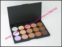 New arrival 1pcs/lot professional makeup 15-color concealer pallete fashion face makeup free shipping