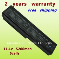Free shipping Battery for ASUS A32-M50 ,A32-N61,A32-X64 ,M50,N61 ,X55 Series 6 cells Black 5200MAH One Year Warranty
