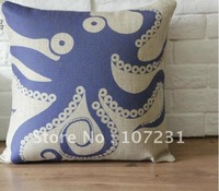"1 18"" x18"" 45CM vintage Home Decor Throw Pillow Case Cushion Cover cotton Classical"