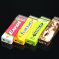 Wholesale -  Novelty Chutty lighter,Chewing gum butane lighters ,green arrow flame lighter