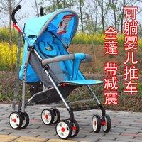 Bundle sanle baby stroller car umbrella light stroller shock absorption summer