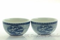 """Painting of Riverside Scene at Qingming Festival"" Porcelain Tea Cup, 50ml/cup"