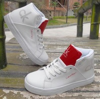 Free shipping, Korean Men's boots, fashion, trend, male high-top, white tide shoes