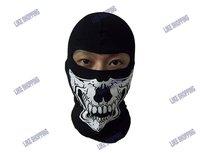 Fashion Soft Cotton Full Face Guard Tactical Mask skeleton