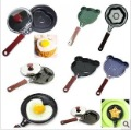 For egg/cake/pizza separator! stainless steel cartoon animal Heart-shaped Fried Eggs cooker frying pan,10 designs can be mixed