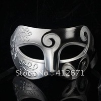 Stunning Silver and black Venetian half mask, Wholesale & Retailer Silver and Black Masquerade Masks for Men