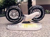 Best selling!!!drift skates/freeline skates/aluminium deck board/christmas gift  Free shipping 1pair