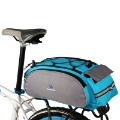 Cycling Bike Bicycle Frame Rack back Multifunctional Bag Blue H8613BL Freeshipping