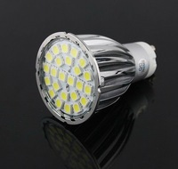 GU10 Cool White 24 LED 5050 SMD spotlight AC85-265V TAIWAN EPISTAR CHIIP