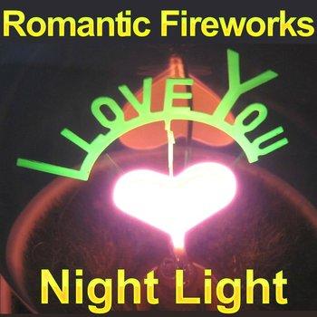 Free Shippig Fireworks Night Light,Plants Night Lighting,Romatic Lamp Novelty Christmas Gift FSWB