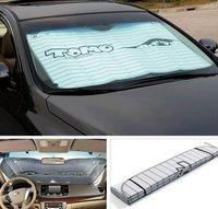 Car sun-shading stoopable 6pcs/set sunscreen photophobism pad cartoon buffer-type thickening supplies free shipping 1set