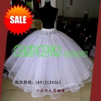 The bride wedding dress formal dress boneless vlsivery large pannier pannier