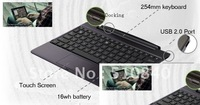 Free Shipping New Wireless Stand Bluetooth Docking Charger Keyboard For ASUS Eee Pad Transformer TF300 TF300T