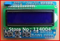 New 1pcs Blue 16*2 LCD Keypad Shield for Arduino Duemilanove UNO Mega 1280 2560 ADK, High quality ,free shipping