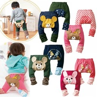 2012 hot selling baby trousers big PP children's pants children's clothing legging free shipping