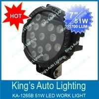 12Volt _51W Automotive LED Work Lights , Utility Light , off road light for suv,atv,utv,4x4