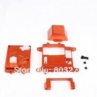 HPI baja parts,CNC metal equipment case ,orange,silver,titanium-FREE SHIPPING