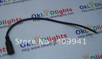Free shipping DC FeMale Plug Cable For LED Strip Light Ribbon