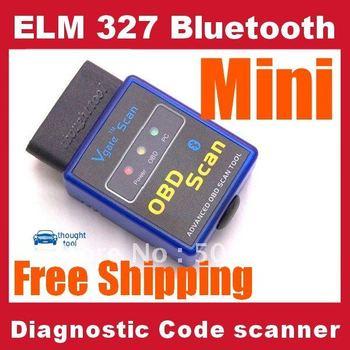 10pcs ELM327 V1.5 Mini ELM 327 Bluetooth OBDII OBD-II OBD2 Protocols Auto Diagnostic Tool works on Android Torque