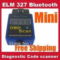 10pcs Vgate scan tool Mini ELM327 Advanced obd2 bluetooth diagnositc Car scanner OBD code reader V1.5