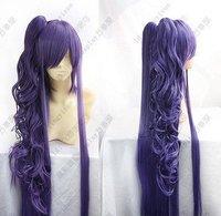 Vocaloid Gackpoid Miku Gakupo Dark Purple Cosplay wigs + gift