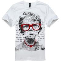 New style summer hot sell fashion men O-Neck short-sleeve cotton T-shirt free shipping LJ147