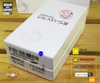 For Samsung Galaxy S3 i9300 Packing box only + Full manual guide English Booklet Real Pic Wholesale 10 pcs / lot  Original New