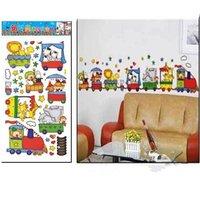 Free shippingThe best price XL-004 Popular Cartoon Pleasure Ground Wall Sticker Wall Mural Home Decor Room Decor Kids Room