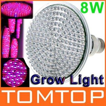8W E27 139 Red 30 Blue Led Lamp Plant Grow Light  Led Glow Lighting Free shipping
